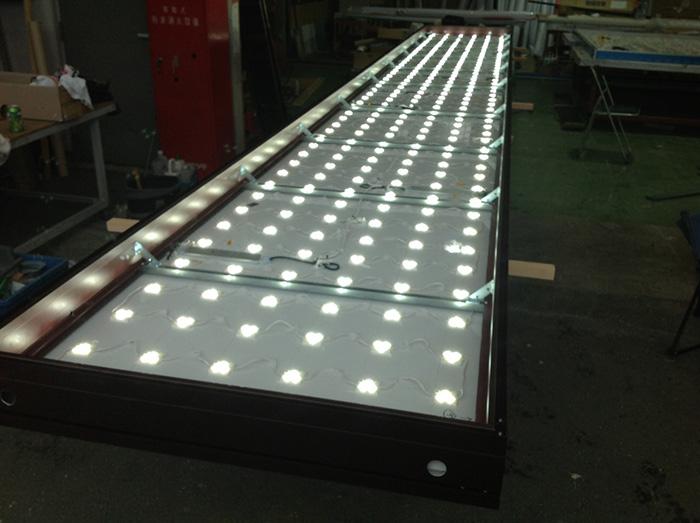 LED看板大型サイズ(点灯)