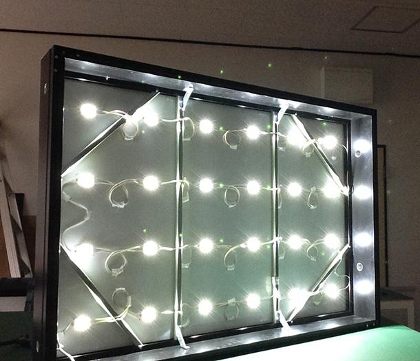 LED看板アクリル用(点灯)