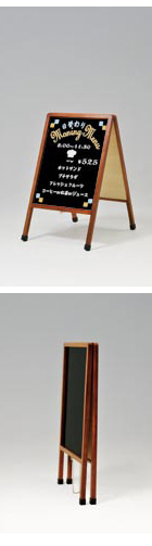 A型-木製マーカースタンド(小)写真