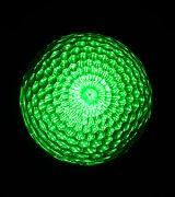 最新LEDサイン球(緑)