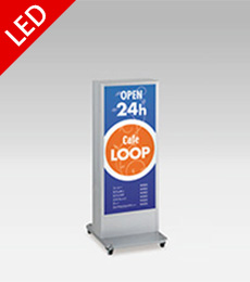 国産タテヤマ製LEDスタンド看板H1120×W480×D550