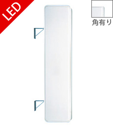 LED突出し看板610×2710
