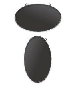 中型鍛鉄サインプレート(楕円)