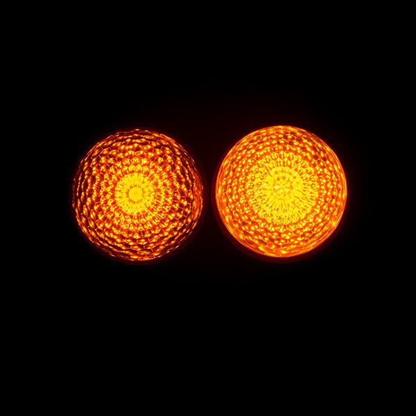 黄色LED比較(正面)
