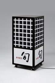 ボックス電飾スタンド・2分割タイプ(中)デザイン1