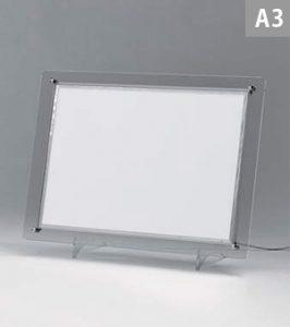 クリア枠LEDパネル