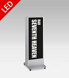 国産タテヤマ製LEDスタンド看板H1400×W480×D550