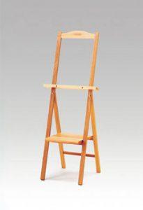 本体写真小物が置けるテーブル付き木製イーゼル3