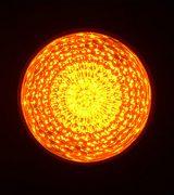 最新LEDサイン球(黄色)